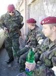 Langer chce příští rok povolat k policii i vojáky