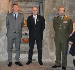 V národním památníku hrdinů Heydrichiády pokřtili novou knihu Průvodce Anthropoid