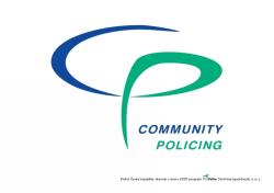 Je libo špetku Community Policingu?