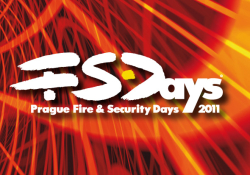 Veletrh  PRAGUE FIRE & SECURITY DAYS 2011