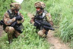 Armáda pomahá policii? V Itálii nic nového