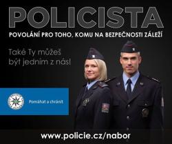 Policie ČR představila nové náborové vizuály