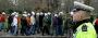 Dohled na protestující kolegy | Foto: repro policista.cz