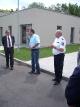 Průvodce v labyrintu budov nám dělal Dr. Andreas Schneider (vlevo) a policejní rada Andreas Röhner M.A. (uprostřed)