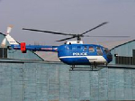Policejní vrtulník BO 105