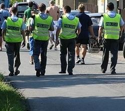 Policisté odcházejí