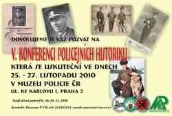 V. konference policejních historiků