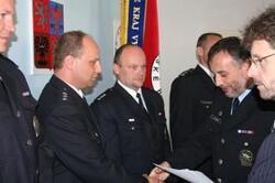 Ocenění policistů za zásah na D1.