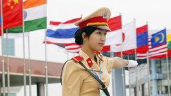 vietnamská policistka