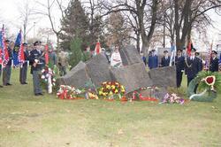 Památník zemřelým policistům a hasičům
