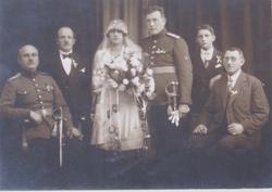 Svatba - výsledek několikaměsíčního snažení četníkova