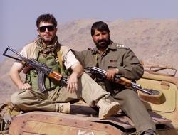 Pavel Černý v Afghánistánu
