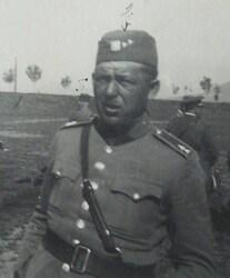 Štábní strážmistr Zelinger přišel při dobývání Tisé o obě nohy