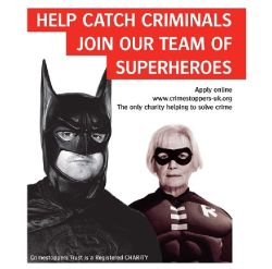 Jedna z kampaní CrimeStoppers UK