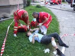 Zraněný policista