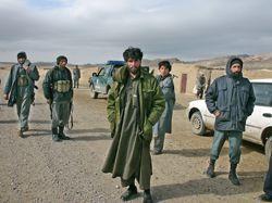 Afghánští policisté 'v akci'