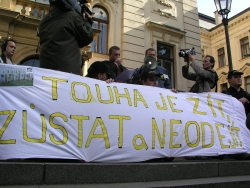 Protest policistů 2007