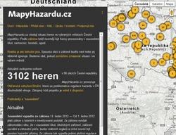 Mapování heren v ČR