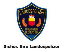 Znak a motto lichtenštejnské policie