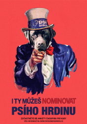 I want YOU, abys nominoval čtyřnohého parťáka!