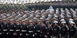 Zlomek z dvou milionů čínských policistů