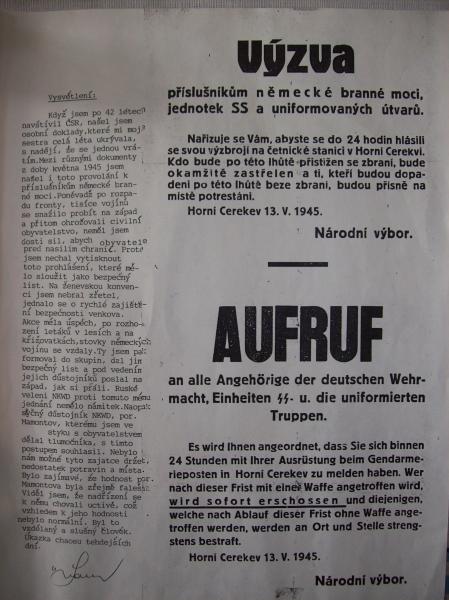 Provolání k příslušníkům německé branné moci