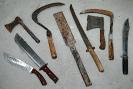 Zbraně, zabavené při kriminální či teroristické činnosti nám tu následně dobře posloužily při výcviku.