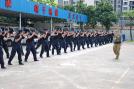 Členové místního SWATu v Taishan coby budoucí istruktoři Euro Security Products.