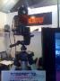 Detail svítilny s integrovanou kamerou