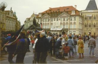 Oslavy 17. listopadu očima pražského policisty