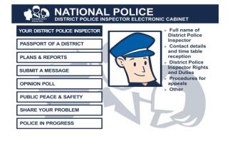 Ukrajinský e-kabinet jako nástroj komunikace okrskových policistů