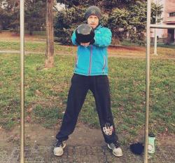 Silový trénink pro MMA - kettlebell swing!