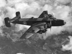 Britský válečný letoun na nebi