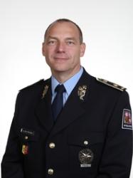 Miloš Trojánek, odcházející na KŘP na Vysočině