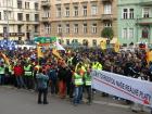 Policejní odbory chystají demonstraci