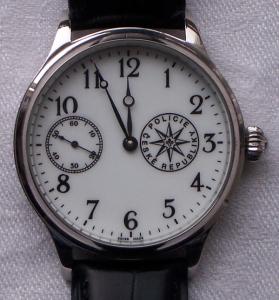 Chronopolicista a jeho hodinky