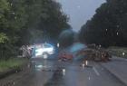 Dva policisté zemřeli při čelní srážce s civilním vozem