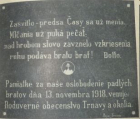 Slovensko a první mrtví v četnických uniformách
