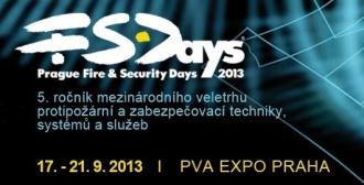 PRAGUE FIRE & SECURITY DAYS 2013 překvapí novinkami!