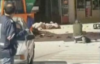 Střelba do ležícího:  I toto je součást policejní práce