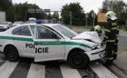 HN: Denně havaruje sedm policejních aut