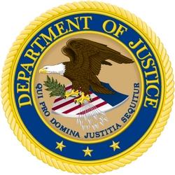 Znak amerického Ministerstva spravedlnosti